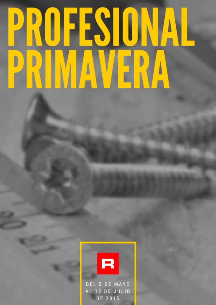 PROFESIONAL PRIMAVERA 2015 roymar