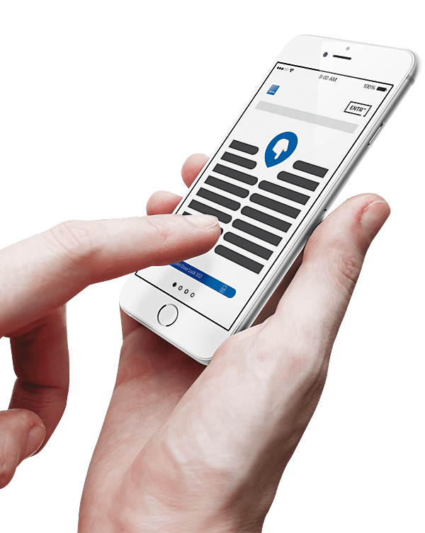 Cerradura inteligente Tesa ENTR roymar movil smartphone