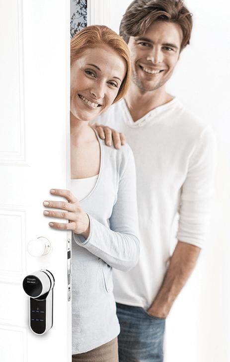 Cerradura inteligente Tesa ENTR roymar puerta casa