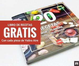 Libro recetas GRATIS Valira Aire roymar