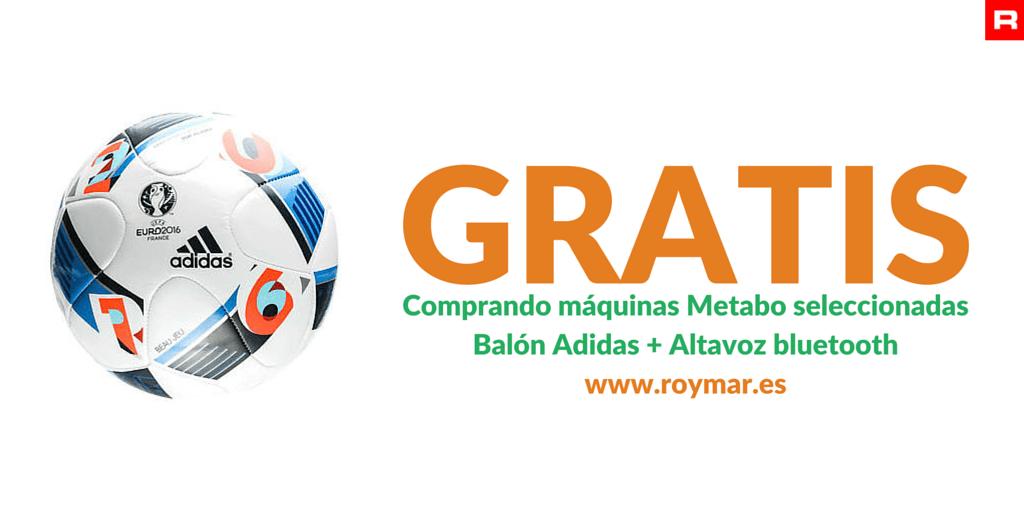 gratis balón Adidas Eurocopa 2016 Metabo Roymar