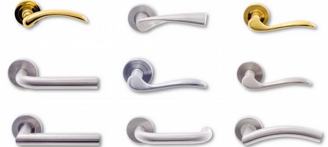 Colección 2015 de manillas para puertas