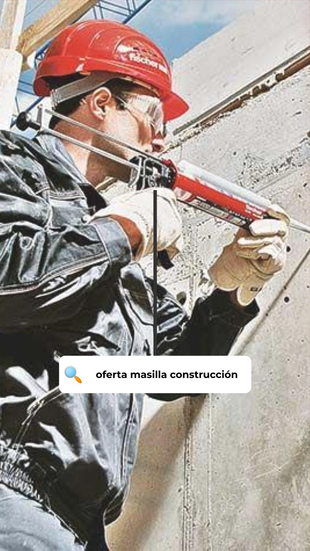 Oferta masilla Fischer MS construcción