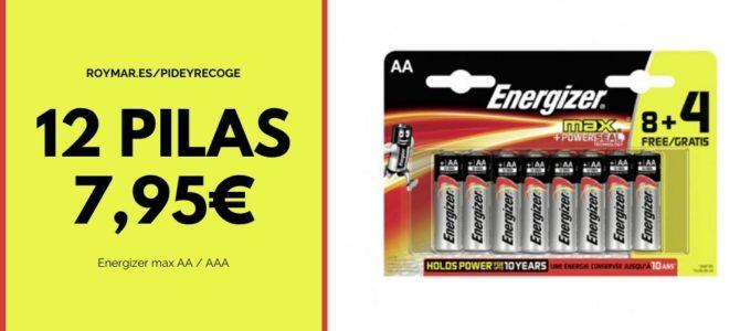 A partir de mañana: Pilas Energyzer