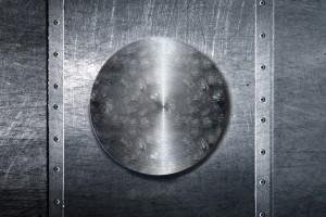 placa metal
