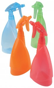 Pulverizador multicolor 1 litro 2,15€