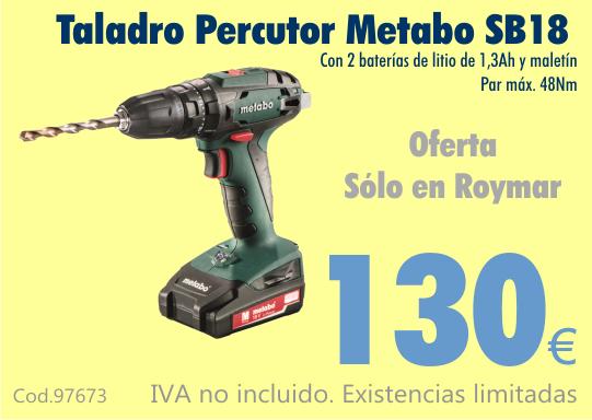 Oferta Metabo SB18
